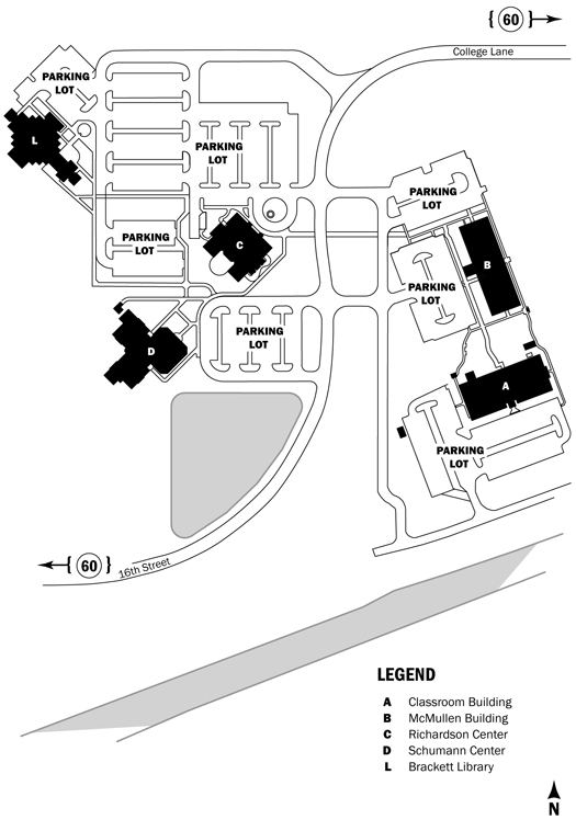 Campus Map - Ruby Jefferson